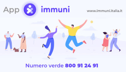 """""""Immuni"""" è la nuova app non obbligatoria, come funziona Immuni e come si usa l'app per tracciare i contagi da Coronavirus."""